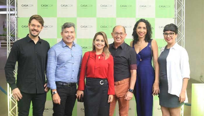 Ricardo Castro e César Revorêdo recebem grupo de arquitetos