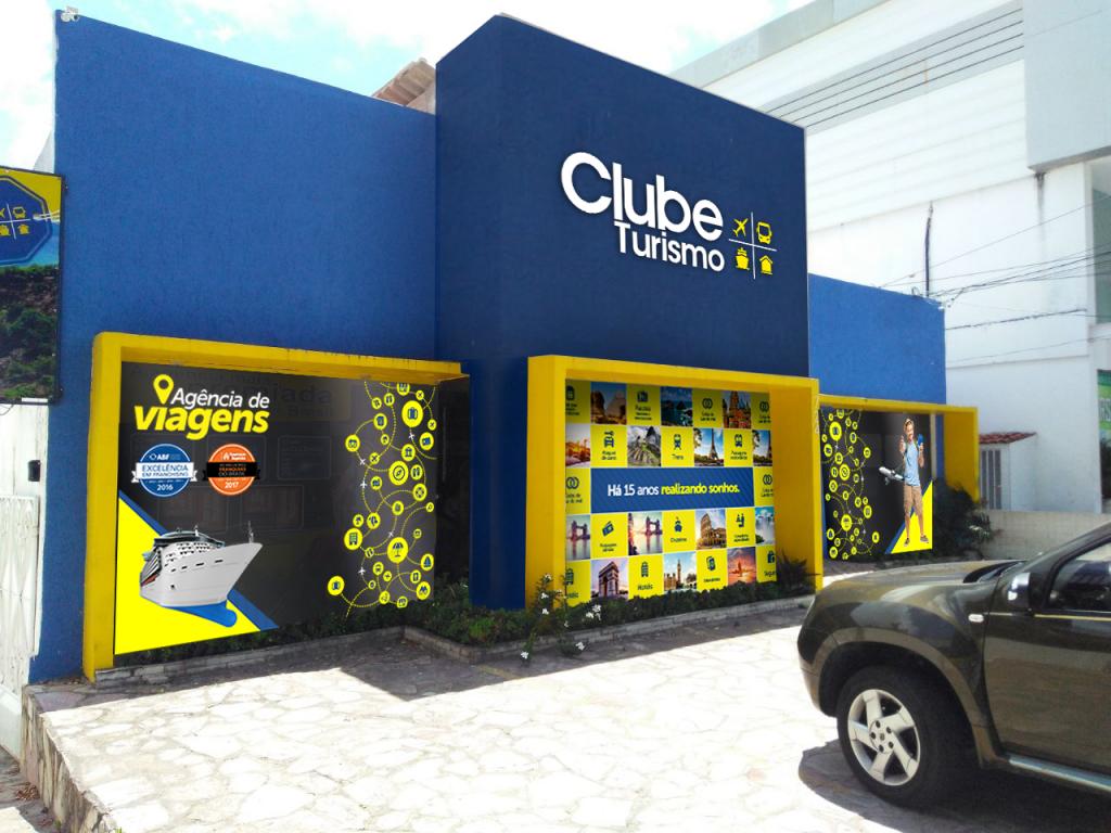 Fachada Clube Turismo