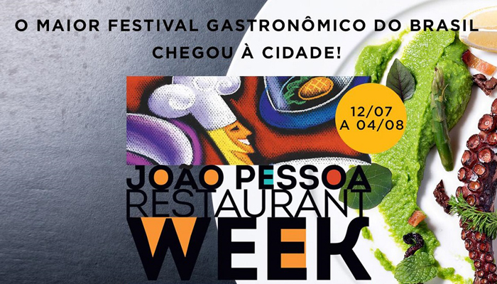 João Pessoa recebe pela primeira vez o Restaurant Week