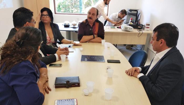 Presidente da Rede Nacional de Contabilidade encontra Secretário Municipal de Tecnologia