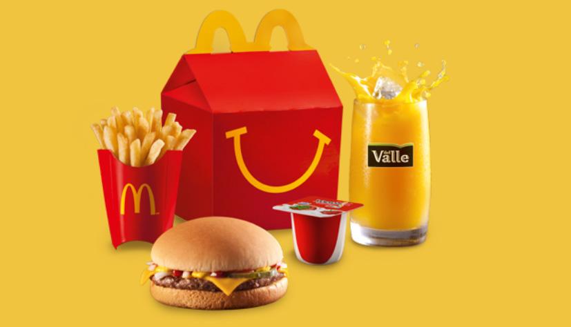 McDonald's Brasil antecipa cumprimento de metas globais de nutrição do McLanche Feliz